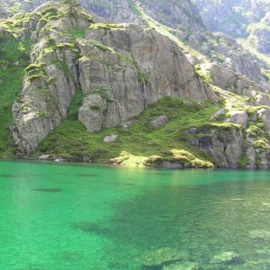 Lac Plaa de Prat - Le nord du lac
