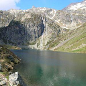 Lac d'Ilhéou - Arrivée au lac à 1 975 m