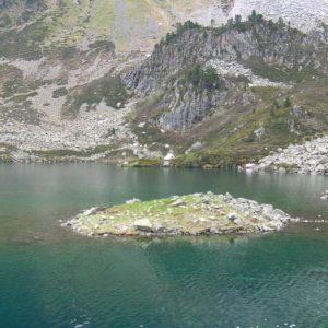 Lac d'Ilhéou... Au sud du lac...