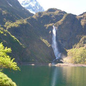 Le lac d'Oo - Arrivée sur le lac, altitude 1 504 m