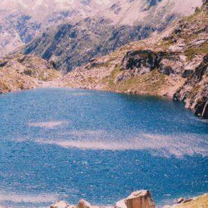 Le lac Nère, 2 309 m