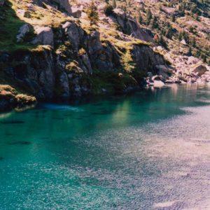 Lac Plaa de Prat - Ce lac est juste au-dessus de celui de Langle