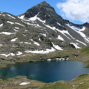 Malh Arrouy - Au sud du lac de Couy, le Malh Arrouy à 2 965 m d'altitude