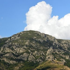 Mont Chabrier (1230m)  Mayres - Ardèche