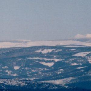 Le Mézenc... Vu du sommet du Finiels