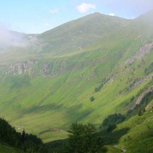 Pic de Ribesautes, 2 142 m - La vallée de la Frèche