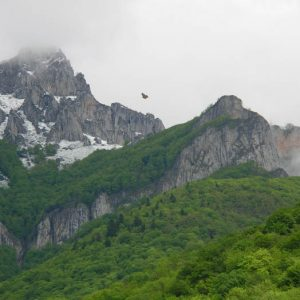 Le pic du Gar, 1 785 m d'altitude - Vue de la vallée de la Garonne...