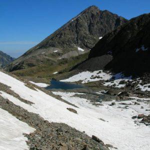 Le pic de Pébignau... À 2 895 m, dans l'Estom Soubiran...