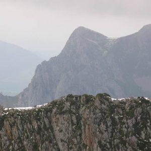 Pic Saillant, alt. 1 785 m - Le pic Saillant est la face est du Pic du Gar
