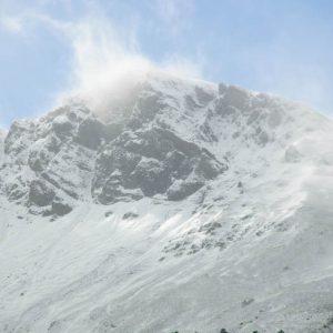 Pic Wilsson, 2 400 m - Côté est, vu de Cauterets
