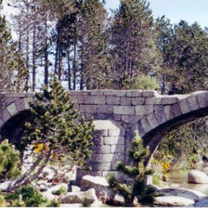 Le pont Romain - Le Tarn, mont Lozère