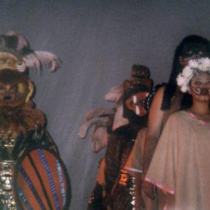Grupo Sinaloense de Difocur - Mexique, rite à Nezahualcoyotl