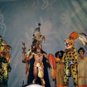 Rite à Nezahualcoyotl - Nezahualcoyotl, poète et empereur aztèque de la fin du XIVe siècle