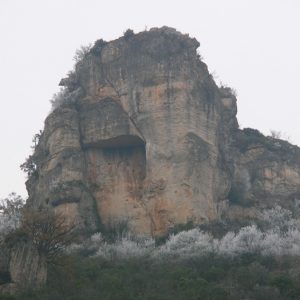 Rocher de Capluc - Gorges de la Jonte