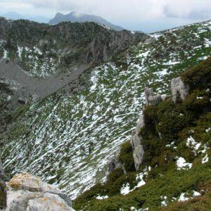 Sommet des Parets - Vue du pic de l'Escalette
