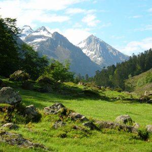 Vallée de Lutour - Vers 1 370 m, en arrivant à la Frutière