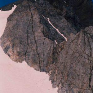 Le Vignemale... Vu du Col des Gentianes (2 729 m)
