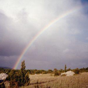 Sur le causse de Blandas - Vers la Rigalderie, (Gard). ...Bajn riegda...(L'orage est né)