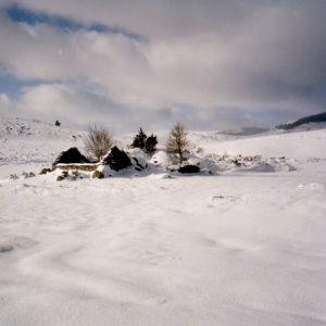 Vers la Beaume du Monsieur - Entre l'Hôpital et le Gasbiel, mont Lozère