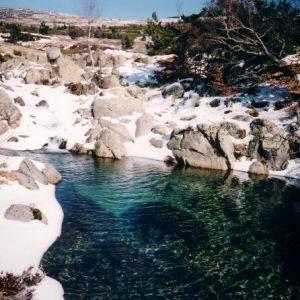 Sources du Tarn en hiver - Mont Lozère