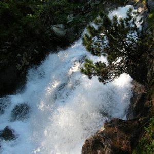 Cascade... Gave de Lutour, vers 1 765 m