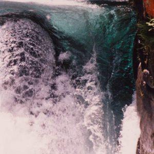 Cascade du Pas de l'Ours - Eaux tumultueuses, aux turbidités limpides...