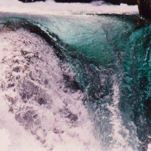 Coulée de verre... Le gave du Marcadau est sur cette partie riche en cascades (ici celle de l'Ours)