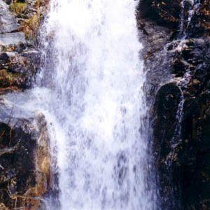 Cascade du Montlouvier - L'automne