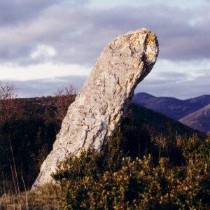 Menhir de Landre - Causse de Blandas vers Le Vigan - 30