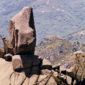 Le Roc de Trenze - Au-dessus de Vialas, massif du Lozère