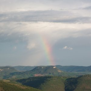 vue de Montjaux - Aveyron