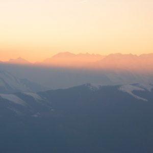 chaîne du Shrader, vu du Pic Arrouy - Pyrénées du Haut-Luchonnais