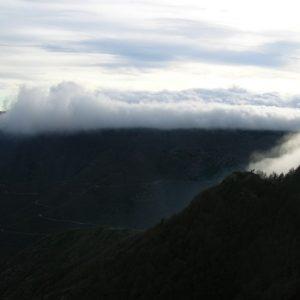 mer de nuages en formation - Vallée Borgne (Mt aigoual)