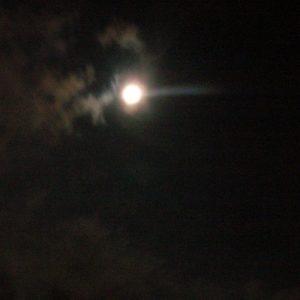 nuit de pleine lune et Jupiter ...