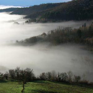 rivages de la mer de nuage (Montjaux -Aveyron)