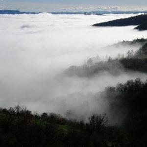 mer de nuage (Montjaux -Aveyron)