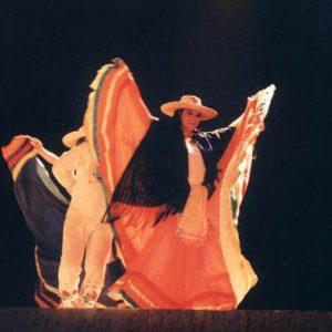 Mexique - « Le papillon »...Ensemble Sinaloense de Difocur, festival de Montignac en été 2000 (24- Dordogne)