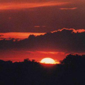 Crépuscule - Un soir d'été... en Dordogne..
