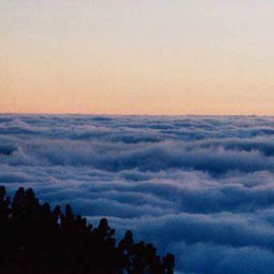 Mer de nuages... Au sommet de l'Aigoual, en Cévennes...