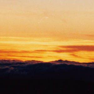 Ciel et nuages...  Du sommet de l'Aigoual...