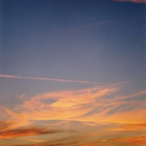 Coucher de soleil sur le causse de Blandas