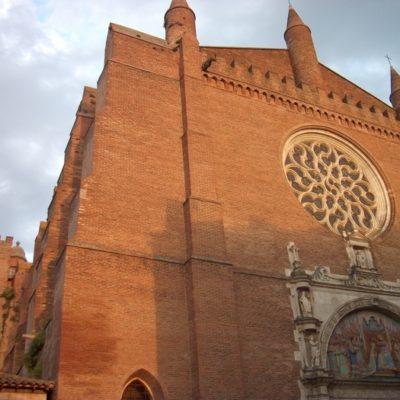 Église Notre-Dame de la Dalbade (portail sud ) - Toulouse