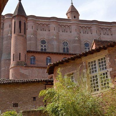 Cathédrale Sainte-Cécile d'Albi, face nord