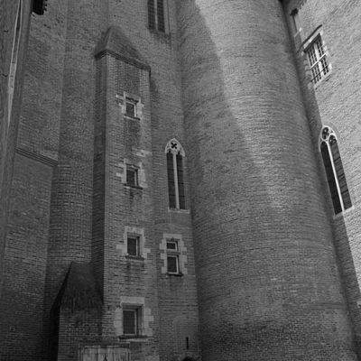 cour intérieure du musée Toulouse-Lautrec d'Albi