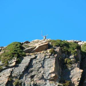 au Pic de Burat ! (altitude 2154m.)