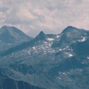 Arbizon, pic d'Aulon - Le massif d'Arbizon (2 831 m) vu du pic du Midi de Bigorre en été...