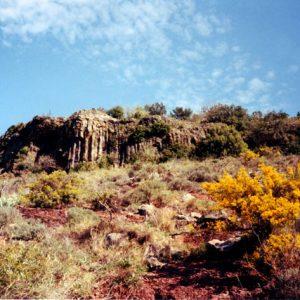 Basalte au Salagou
