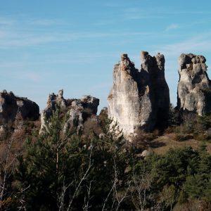 Rocs de Roquesaltes - Causse Noir, Aveyron