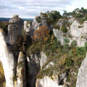 Gorges de la Dourbie - Paroi des acrobaties...