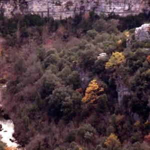 Les Gorges de la Vis en aval de Navacelles